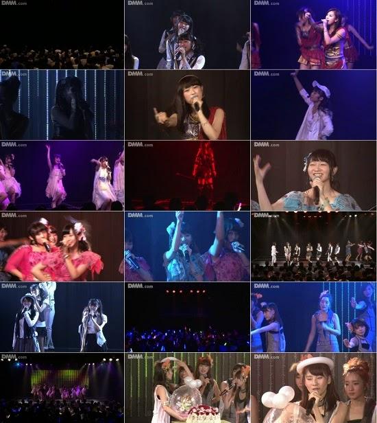 """(LIVE)(公演) NMB48 チームBII """"逆上がり"""" 林萌々香の生誕祭 140911"""