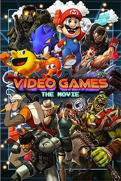 Filme Poster Video Games: The Movie HDRip XviD Dual Audio & RMVB Dublado