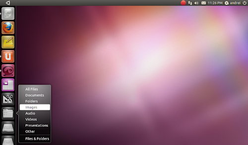 Ubuntu 11.04 screenshot