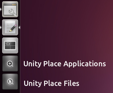 Unity place files applications