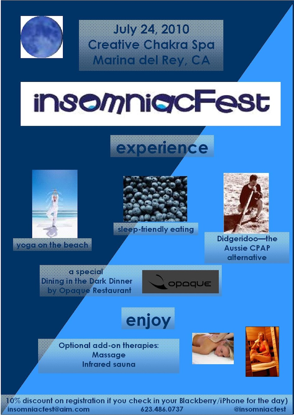Insomniacs unite! We've got a great event for you in Marina del Rey on July 24
