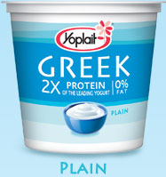 Finally, vitamin D and Greek yogurt in the same food!
