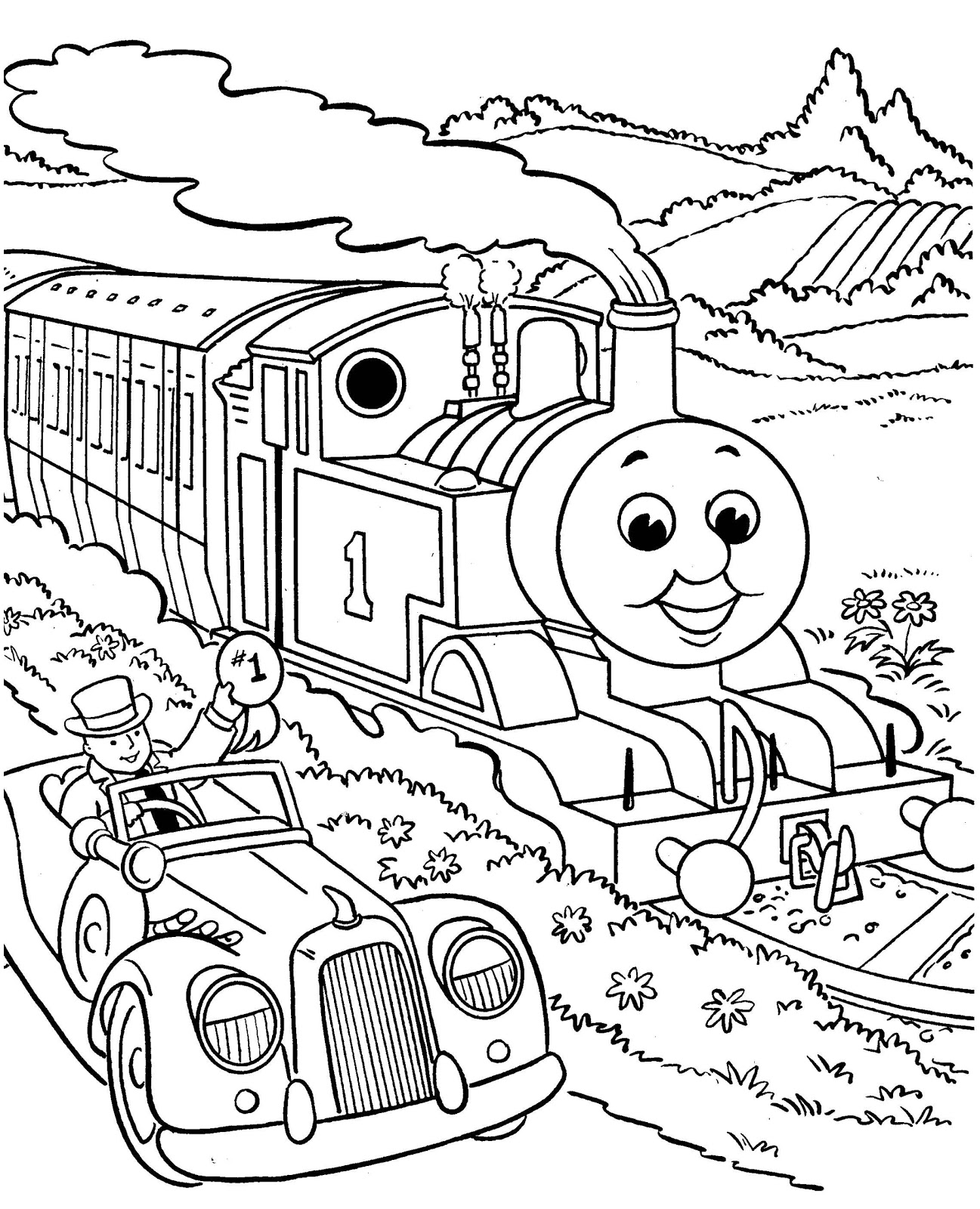 Colouring Pages for Kids from Activity Village - free printable coloring pages for boys
