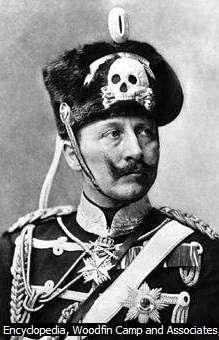 Kaiser Wilhelm mit Malteser-Kreuz