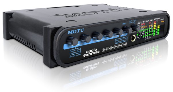 MOTU Audio Express hibrid Firewire/USB2 audio interfész