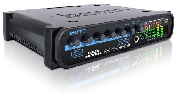 MOTU Audio Express hibrid Firewire/USB2 audio interfész