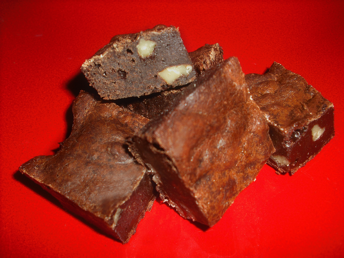 Coco Brownies with Browned Butter and Walnuts