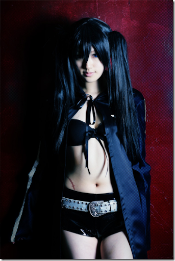black rock shooter cosplay - black rock shooter 07 by saya