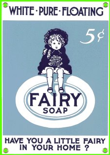 Fairy Soap Vintage Postcard
