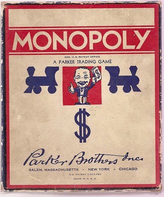 Monopoly Helps WIn Wars