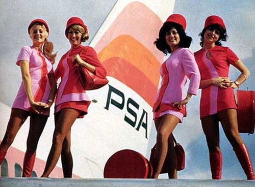 Retro Stewardess'