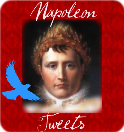 Napoleon Bonaparte is on Twitter!