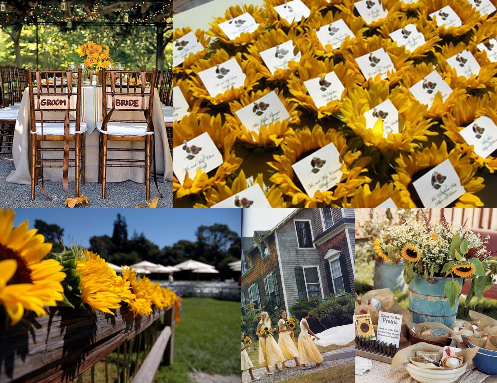 Turils Blog Sunflower Wedding Theme