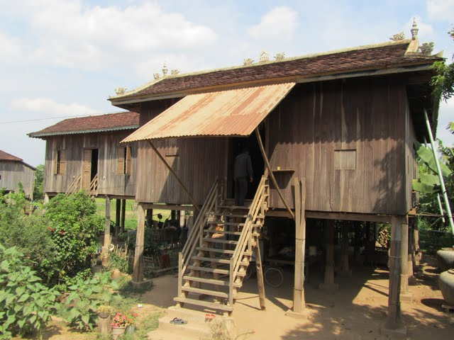Khmer houses Cambodia