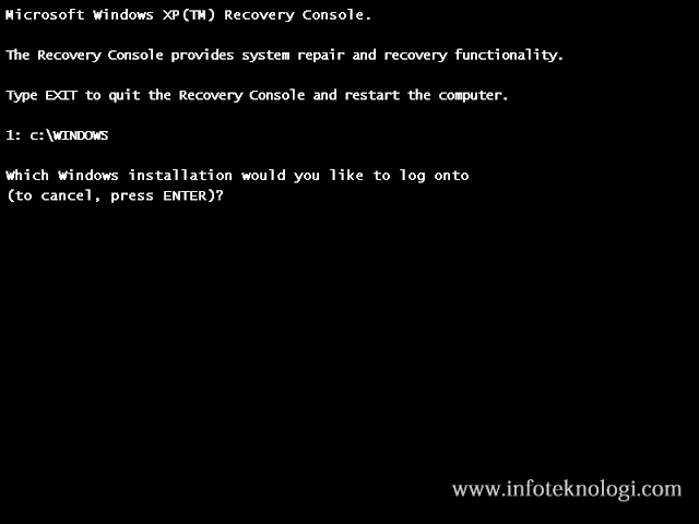 Default+windows+xp+administrator+password+recovery+console
