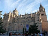La Catedral Nueva es una de las dos catedrales de la Ciudad de Salamanca, una característica poco habitual