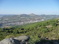 Desde este punto se puede observar Béjar desde el sur