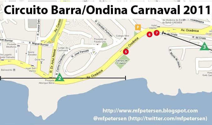 Circuito Barra Ondina : Propaganda e marketing a comunicação dos trios no