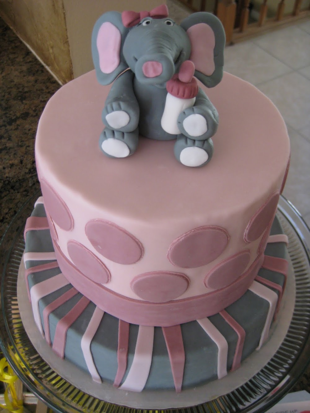 Lil' Squirt Elephant Baby Shower