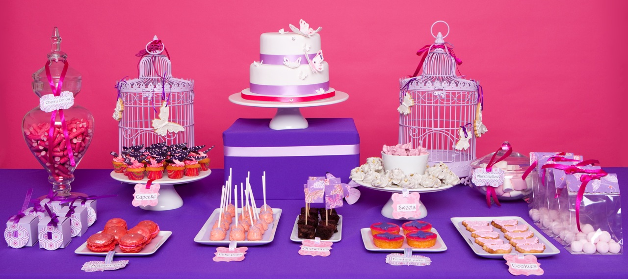 Pink & Purple Desserts from Holland!