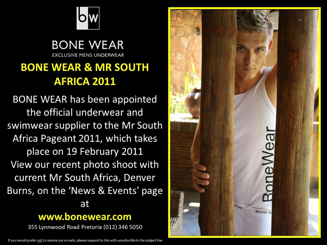 Bone Wear & Mr. South Africa 2016-01-09