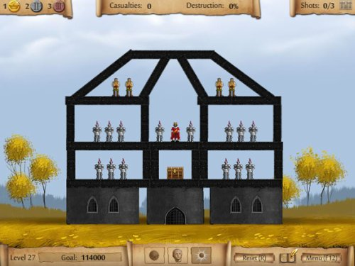 Sieger - Flash based game similar to Angry Birds