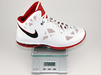 lebron8 ps white red ounce Weightionary