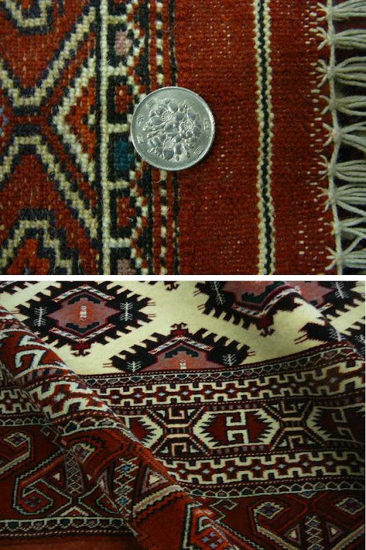ペルシャ絨毯トルクメン産