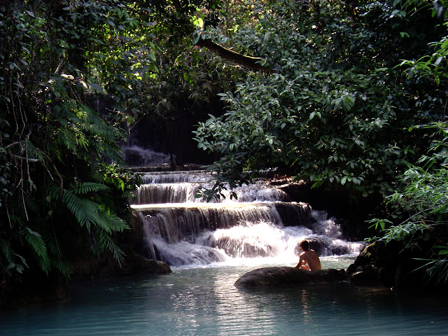 Tad Kvang Sri Waterfall
