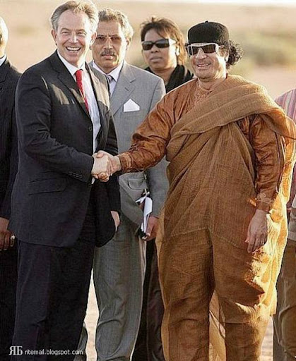 stylish libyan dictator Gaddafi