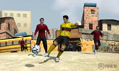 FIFA12 3DS - Futebol Street