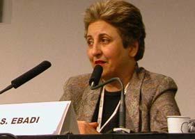 اعتراف شیرین عبادی به برابری حقوق زن و مرد در ایران