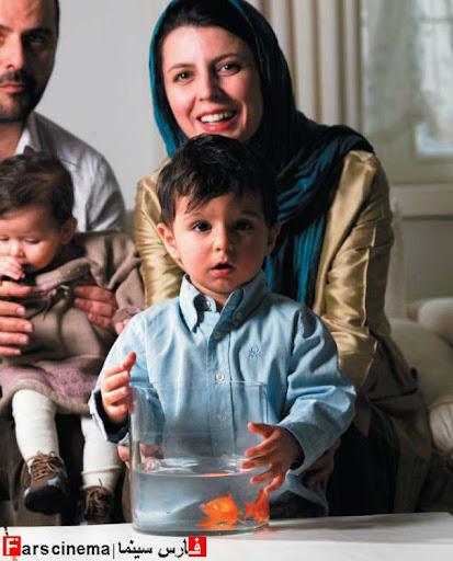 عکس لیلا حاتمی در کنار دو فرزندش!