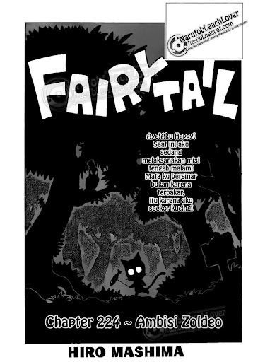 Fairy Tail 224 page 1