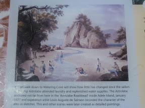 Watering Cove en 1827