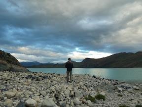 Au bord du lac Nordensjköld