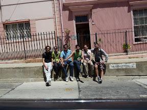 Andres (à droite), Luis et nous !