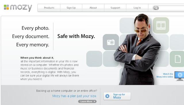 mozy free online cloud storage