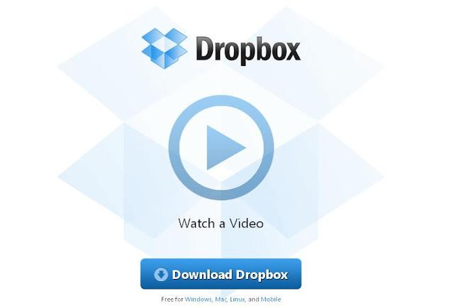 dropbox free online cloud storage