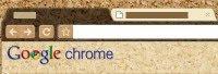 Google Chrome corkboard Teması