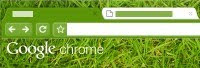 Google Chrome Grass Tema