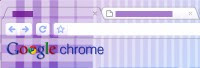 Google Chrome Quilt Tema