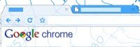 Google Chrome Topography Tema