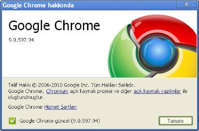 Google Chrome 9.0.597.94