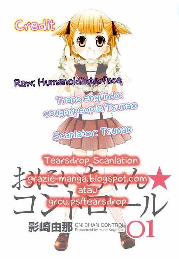 Manga Oniichan Control Page 1