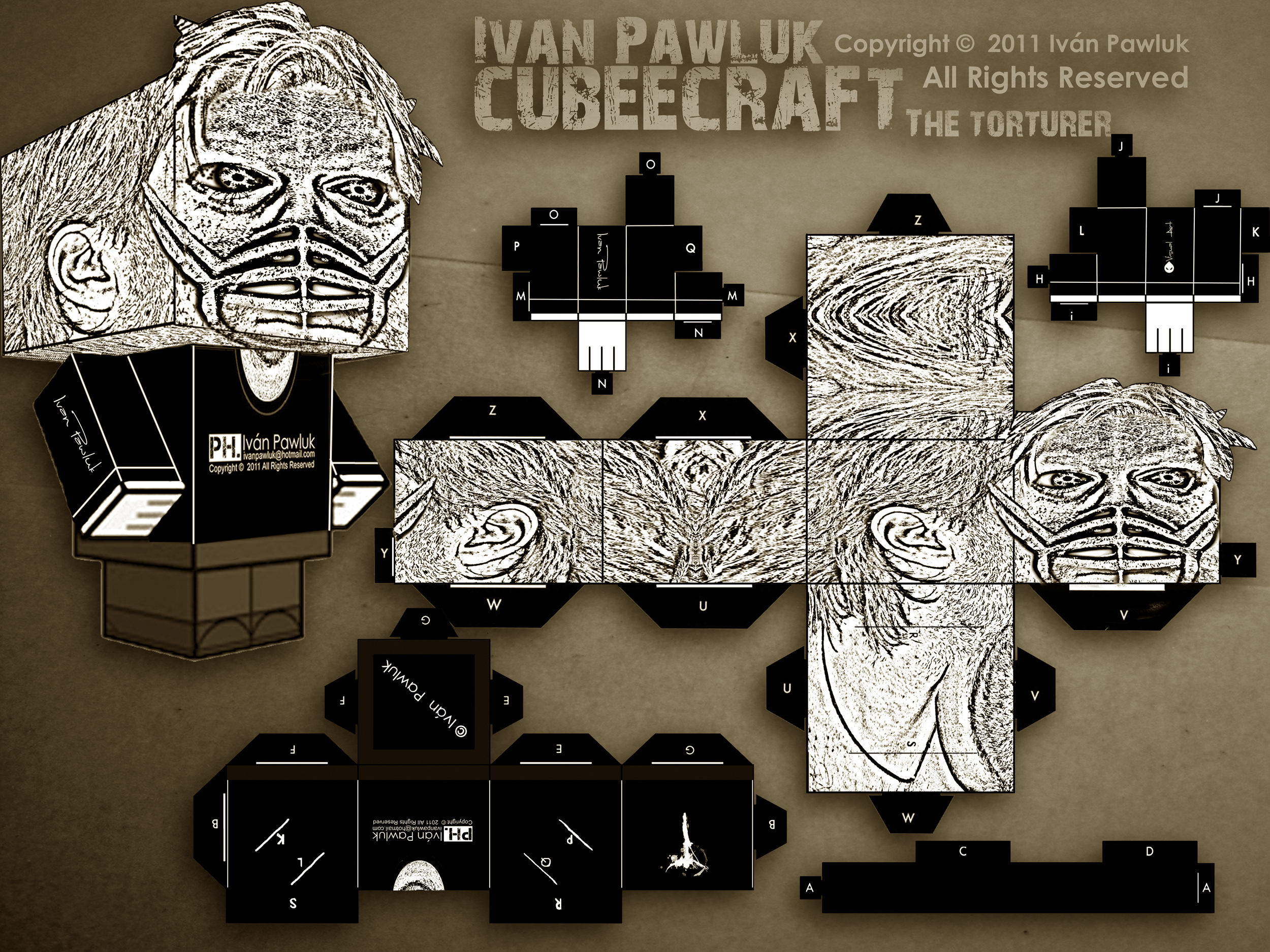 Cubeecraft Iván Pawluk (The torturer )
