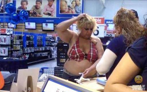 Coisas que você só vê... no Wal-Mart - Parte 7