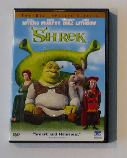 shrek dvd disc image car interior design