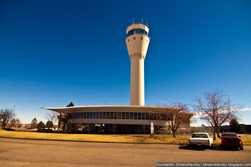 USA Colorado Denver Centennial Airport Tower США Колорадо Денвер Сентенниал Аэропорт APA KAPA