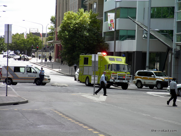 fire brigade on mort street